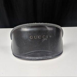Gucci Emblem Black Solid Sunglasses